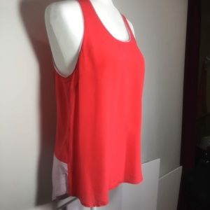 Anthropologie Maeve Silk Color Block Tank 12